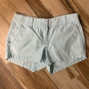 Powder blue J Crew shorts